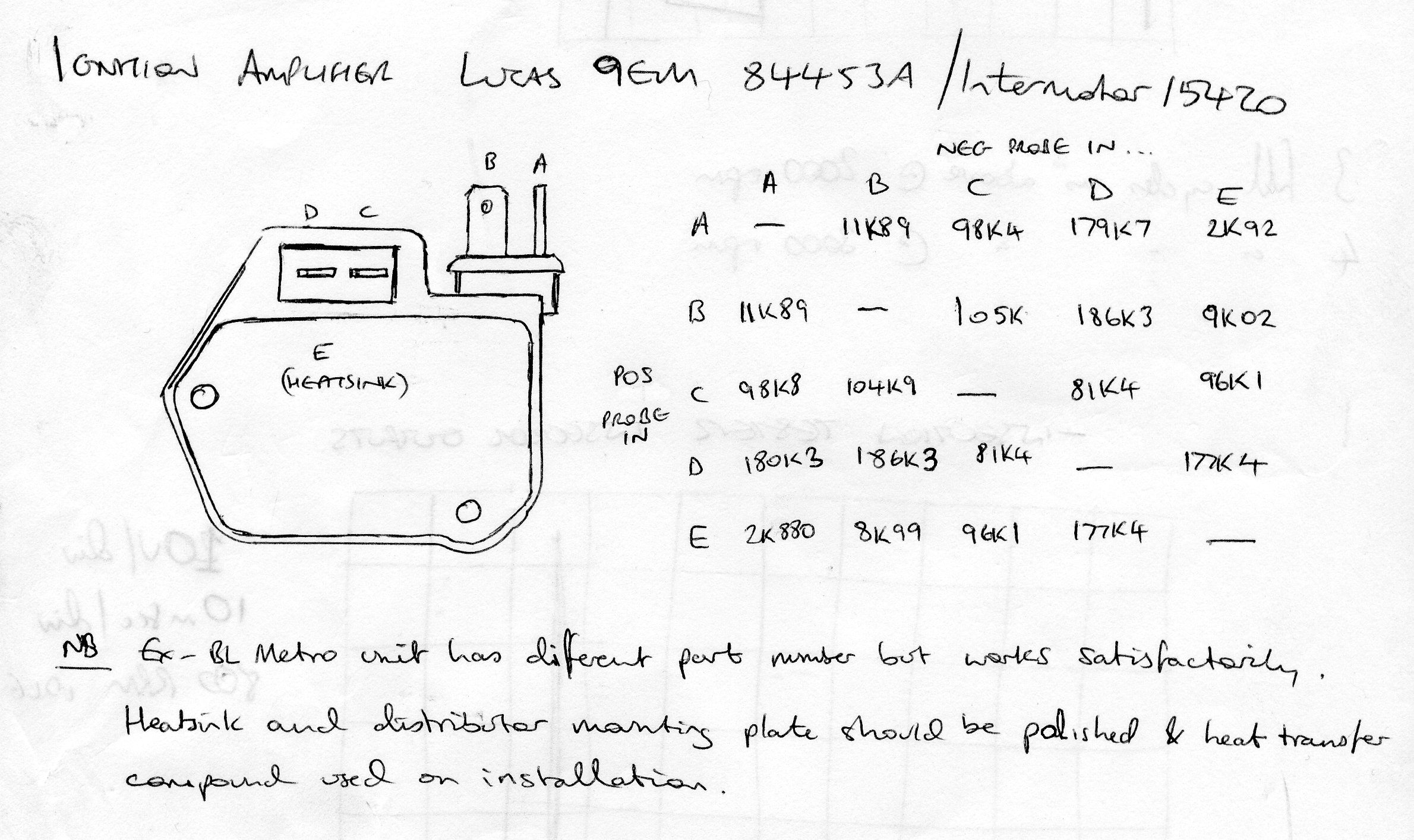 Ignition Amp Testing Still Wont Start Page 2 Wedges Rover Sd1 Wiring Diagram Edited By Wedg1e On Monday 30th March 2102